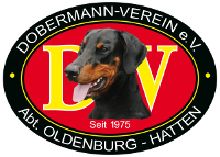 Dobermann Verein e.V. Abt. Oldenburg - Hatten Logo